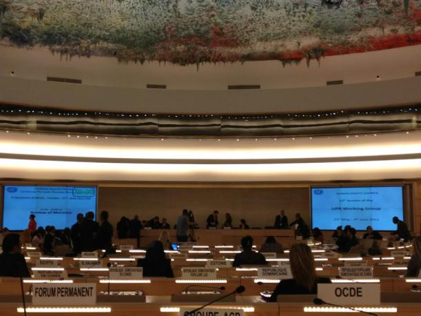 A Day at the United Nations Human Rights Council