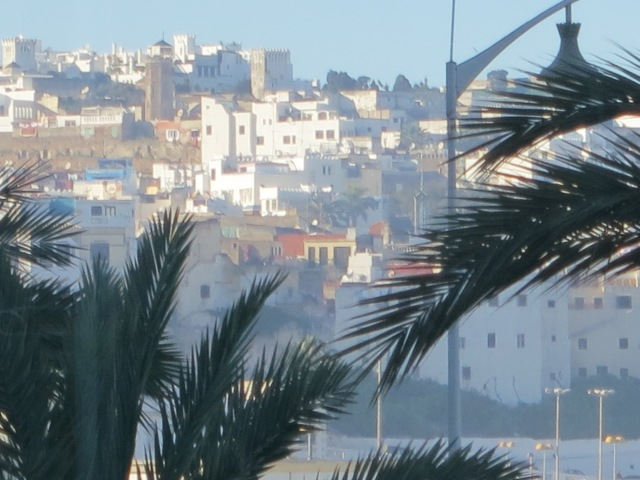 View of the Medina in Tangier