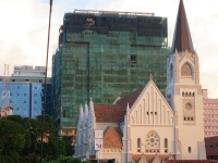 St. Joseph Cathedral, on the waterfront in Dar es Salaam