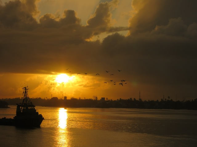 Sunrise in Dar es Salaam