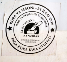 Zanzibar is a semi-autonomous part of Tanzania with its own government - known as the Revolutionary Government of Zanzibar. A proposal to amend Zanzibar's constitution to allow rival parties to form governments of national unity was adopted by 66.2 percent of voters on 31 July 2010.
