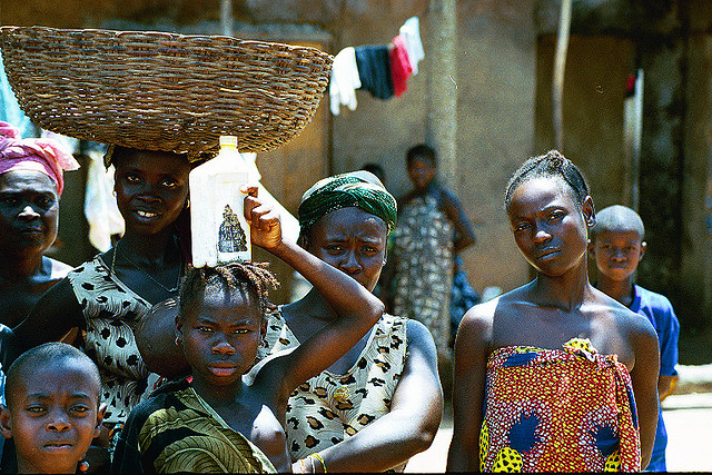 Photo by my colleague Rosalyn Park, taken during our trip to Sierra Leone in 2004