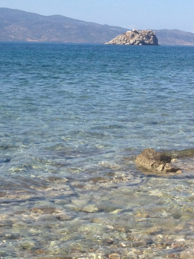 Rocky shores mean crystal clear water for snorkeling.