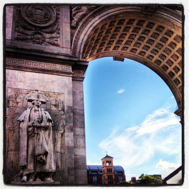 The Washington Arch, Washington Square Park New York City