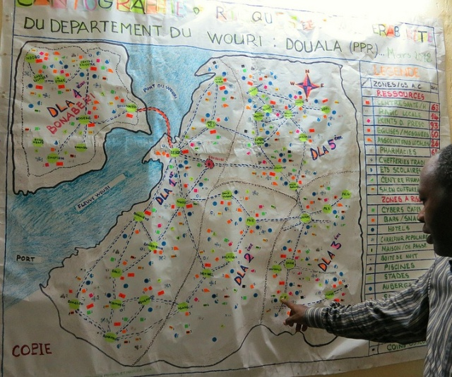 douala map
