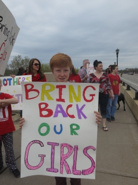 Twin Cities March to Bring Back Our Girls, May 2014