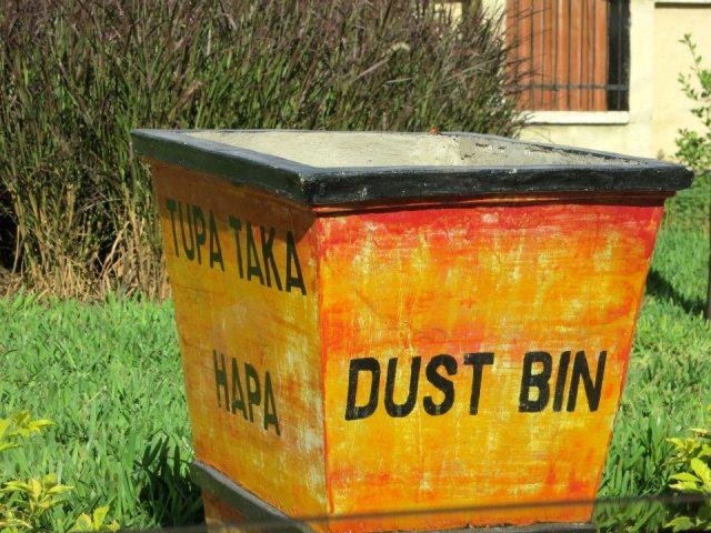 dust bin