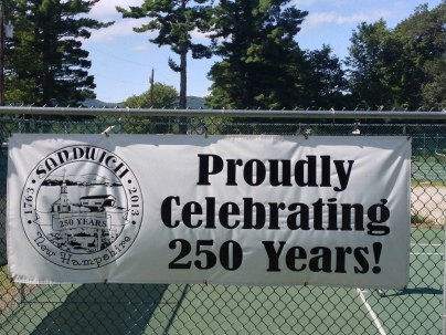 Sandwich celebrated its sestercentennial in 2013.