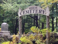 Many old cemeteries in the area are a reminder that the population used to be much larger.