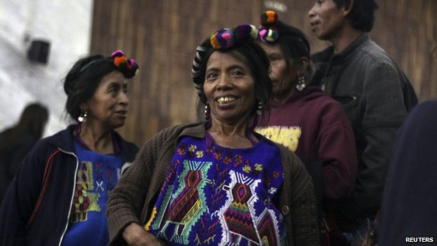 Indigenous activists and relatives of the victims welcomed the sentence. Photo (c) REUTERS