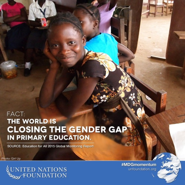 Photo: Girl Up https://medium.com/@unfoundation/5-days-5-facts-educate-a-girl-change-the-world-2991193b319b