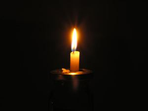 candle from morgue file